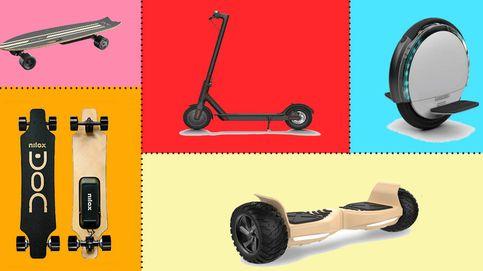 Patinetes eléctricos, 'hoverboards'... Los chollos para cambiar de transporte en 2019