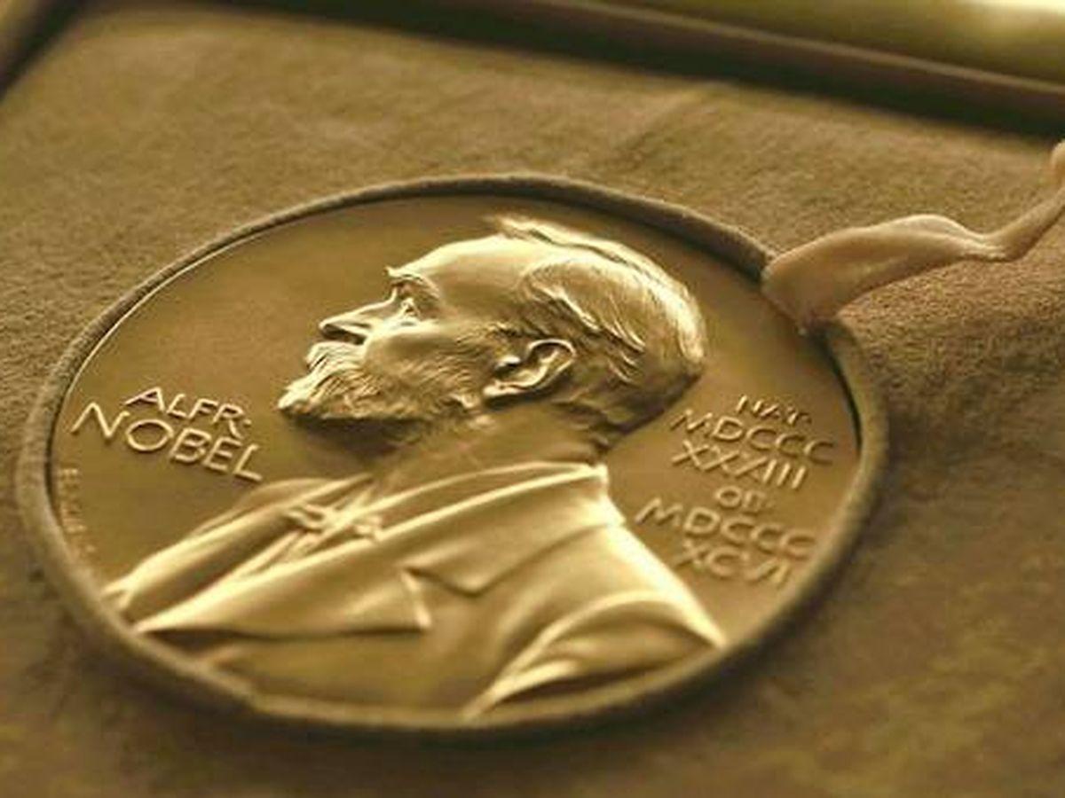 Foto: Medalla del Premio Nobel de Literatura.