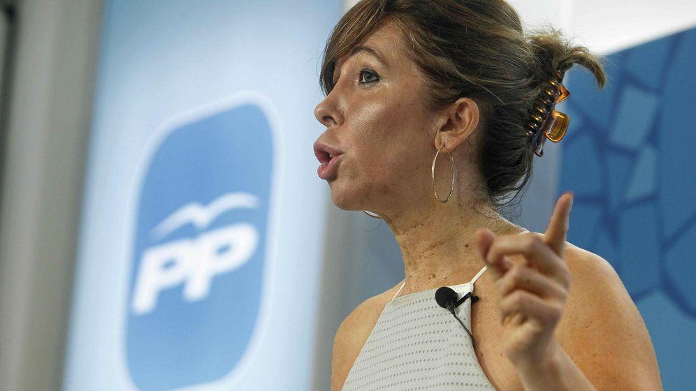 Foto: La líder del PPC, Alicia Sánchez-Camacho (EFE)