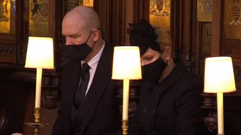 Zara Phillips y su marido, Mike Tindall.