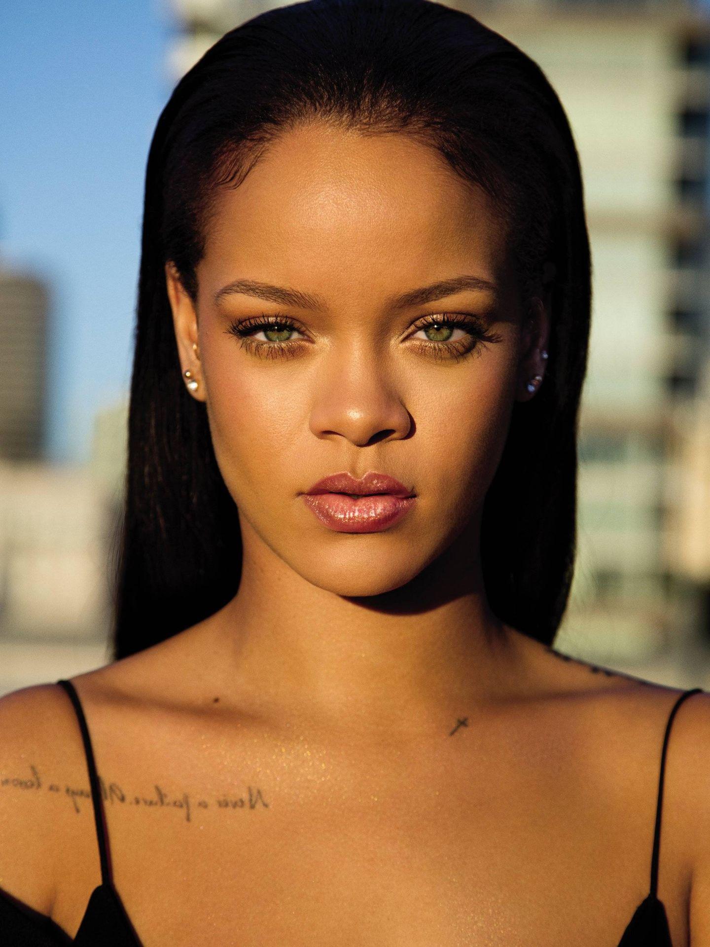 Rihanna para Fenty Beauty.