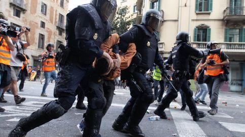 El 13% de los detenidos en los actos violentos de Cataluña son extranjeros