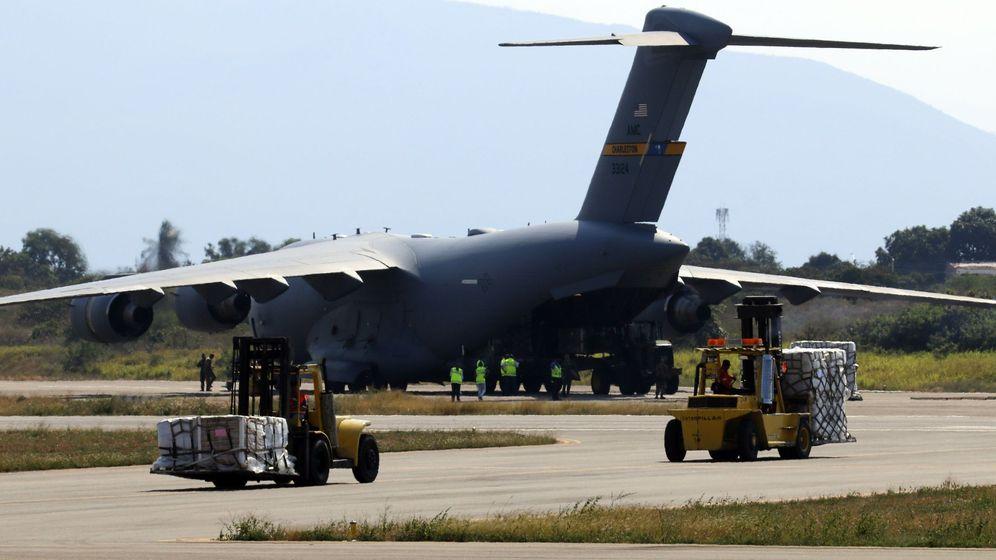 Foto: Imagen de archivo de un avión con destino Venezuela. (EFE)