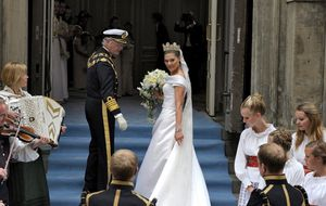 Los invitados a la boda de Victoria de Suecia