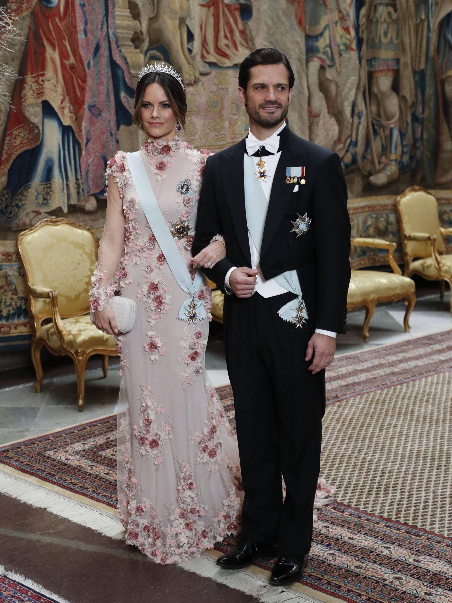 Los príncipes Carlos y Sofía de Suecia. (Cordon Press)