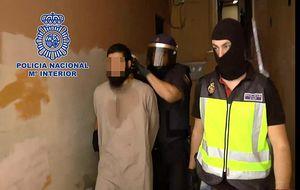 Decretan prisión para el presunto jefe de la célula yihadista