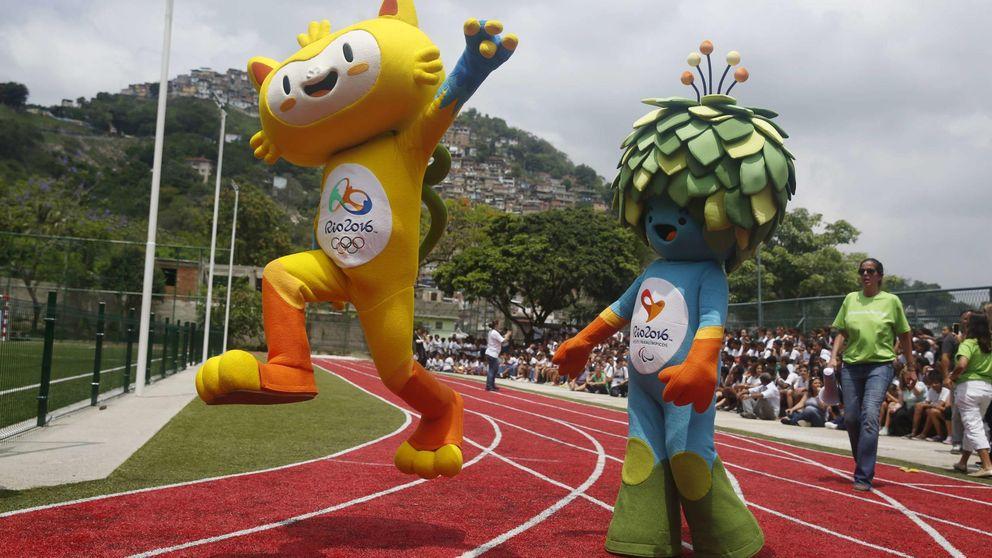 Vinicius y Tom, las mascotas de los Juegos Olímpicos de Río