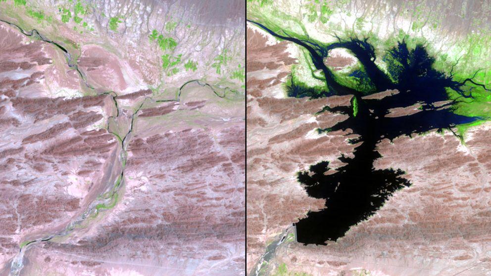 Así ha cambiado el mundo: la NASA publica imágenes del antes y el después de la Tierra