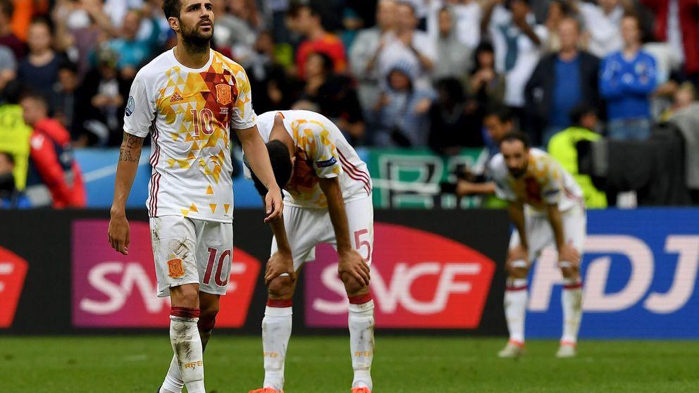 Julen Lopetegui tampoco frena el incesante desplome de Cesc Fábregas