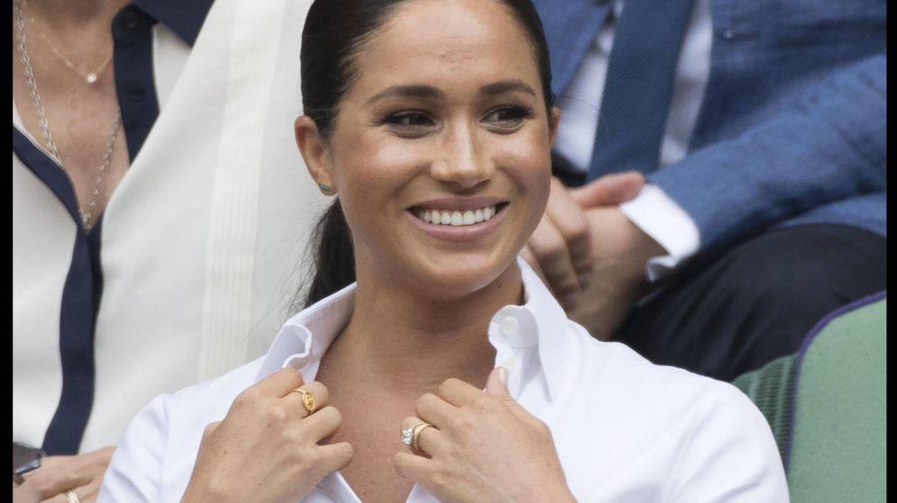 Foto:  El anillo de oro de Meghan, en el punto de mira. (Cordon Press)