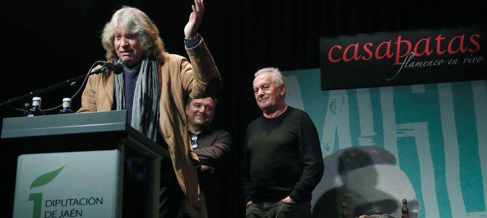 Foto: Presentación del tributo a Miguel Hernández con José Mercé (EFE)