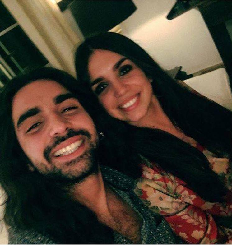Foto: Los hermanos Elena y Guillermo Furiase. (Instagram)