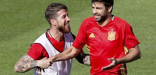 Post de Sergio Ramos, sobre Piqué: