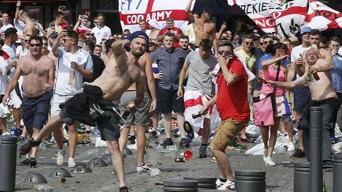 La brutal pelea entre radicales rusos e ingleses en la Eurocopa, grabada en primera persona con una GoPro