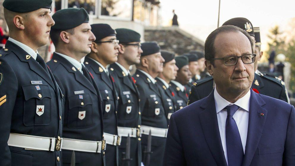 'Pillan' a Julie Gayet abandonado El Eliseo tras 'dormir' con Hollande