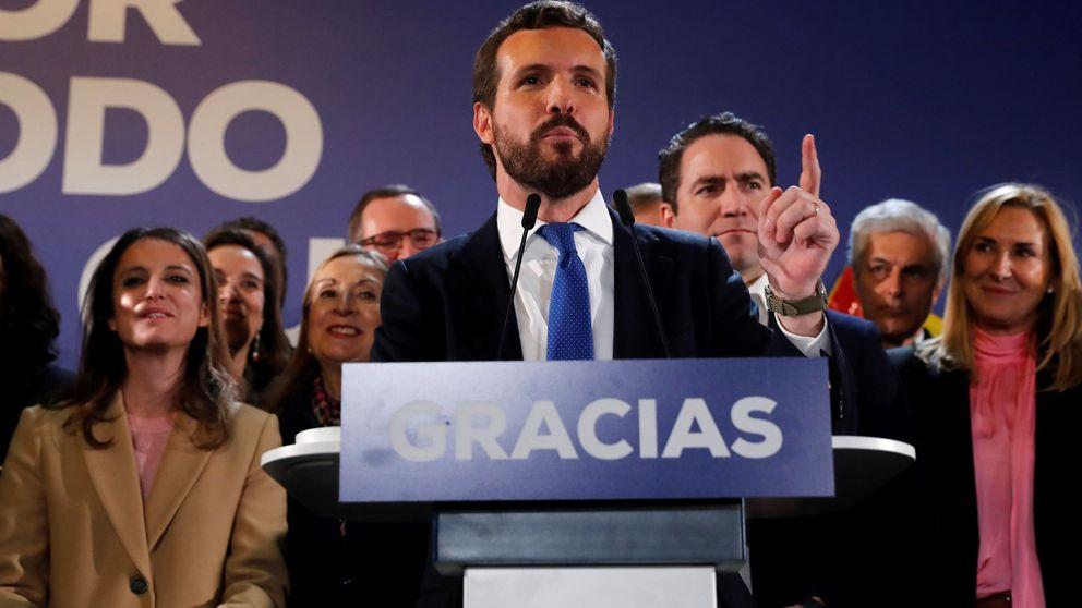 Casado promete trabajar en el desbloqueo, pero se declara incompatible con Sánchez