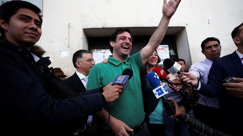 Foto: Sale en libertad paúl ceglia, quien reclama la mitad de facebook