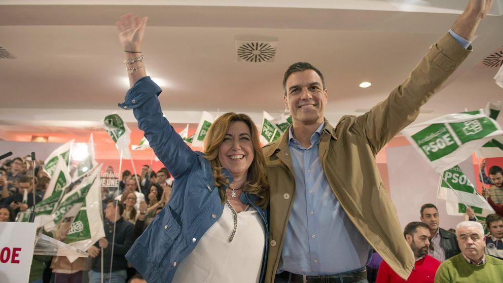 Pedro Sánchez y Susana Díaz, la batalla aplazada
