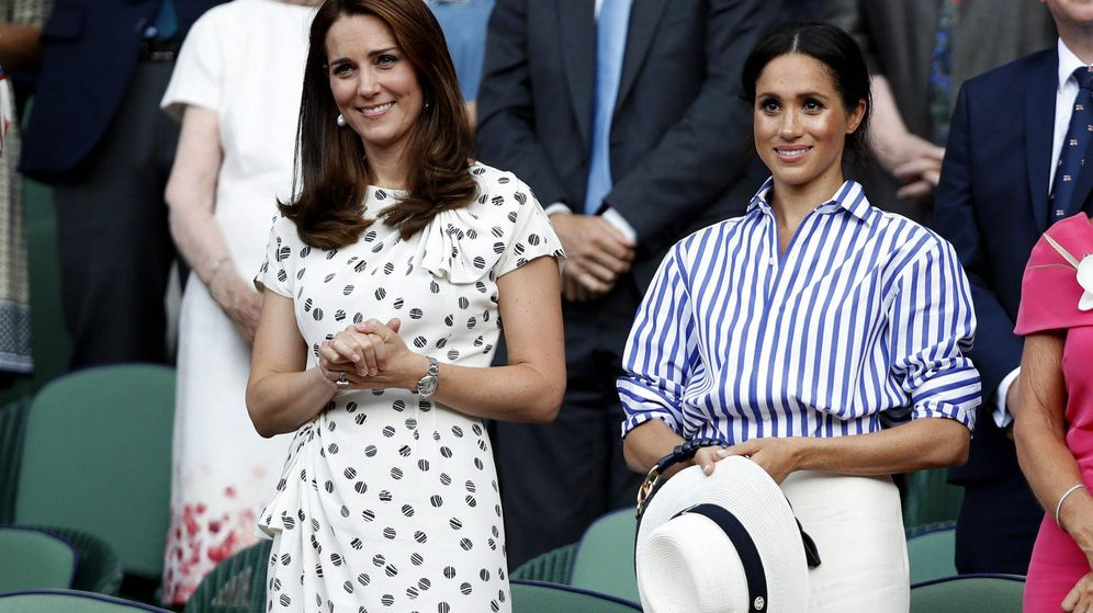 Foto: Kate Middleton y Meghan Markle en una imagen de archivo. (Cordon Press)