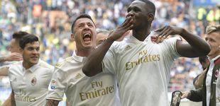 Post de La propiedad china da suerte al Milan: empata el derbi en el minuto 96