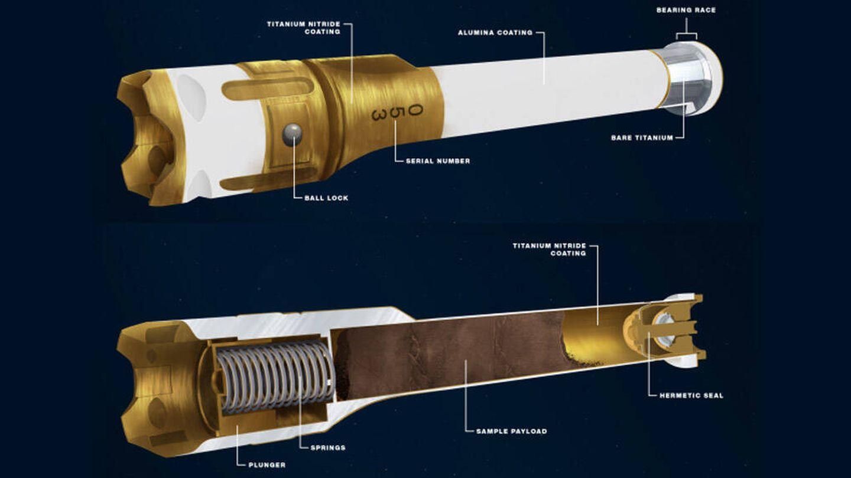 Diagrama del tubo (JPL)