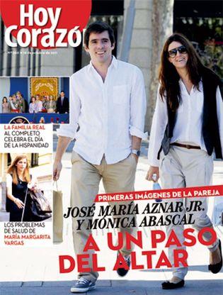Foto: José María Aznar Jr. y su prometida ultiman los detalles de su boda