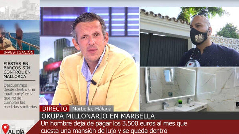 Joaquín Prat en 'Cuatro al día'. (Cuatro)