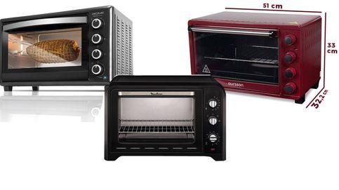 Los mejores hornos eléctricos con relación calidad precio del mercado