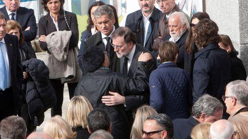 Exministros y miembros del PP acompañan a Rajoy en la muerte de su padre