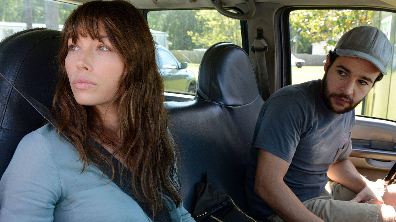 Imagen de 'The Sinner' con Cora y su marido Mason.