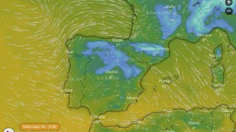 Sigue en directo la ciclogénesis explosiva Gabriel a su paso por España
