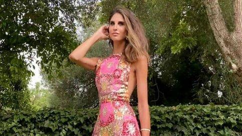 Inés Domecq, la invitada mejor vestida de las bodas del sábado: hablamos con su diseñador