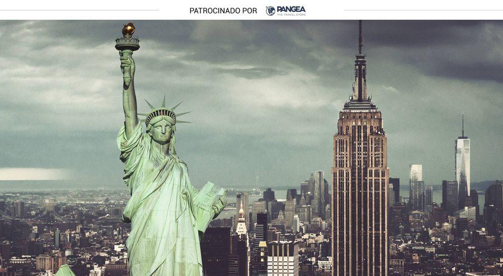 Foto: Algunos de los monumentos más representativos de Nueva York. (iStock)