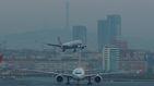 El increíble aterrizaje de emergencia de un Boing 777 en Los Ángeles