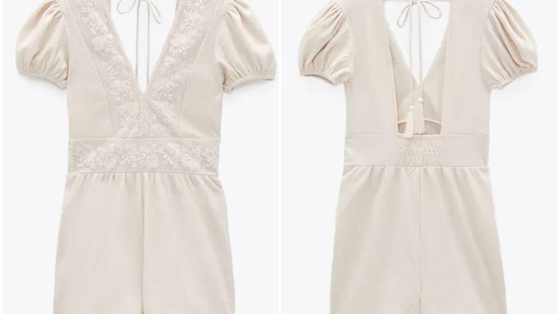 Nuevo diseño blanco de Zara. (Cortesía)