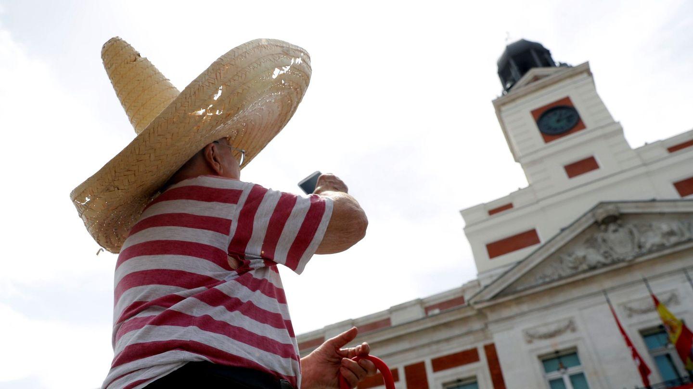 GRAF5235. MADRID, 27 06 2019.- La ola de calor que afecta a gran parte de la península y Baleares no da tregua, especialmente en las provincias de Huesca, Zaragoza, Barcelona, Gerona, Lérida y en las comunidades de Navarra y La Rioja, donde mañana