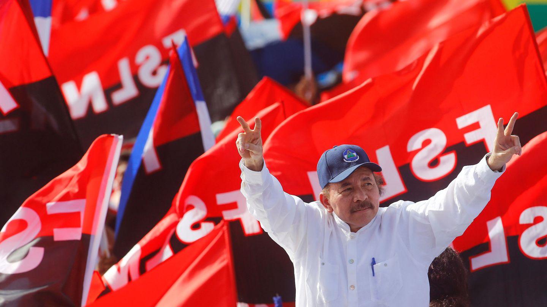 Daniel Ortega durante el 39º Aniversario de la Revolución Sandinista en Managua, el pasado 19 de julio. (Reuters)