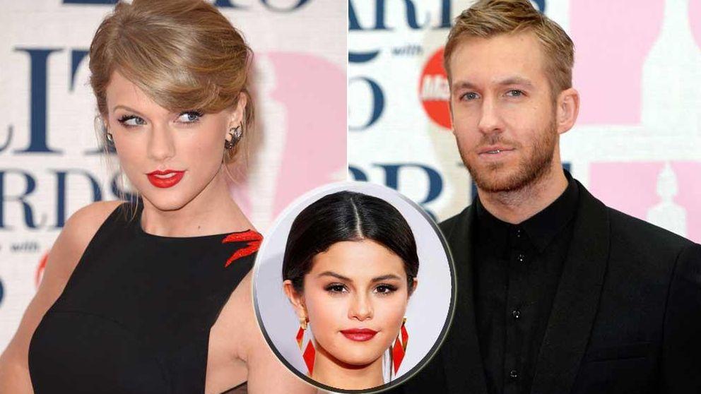 Selena Gomez no quiere que Calvin Harris ligue con Taylor Swift