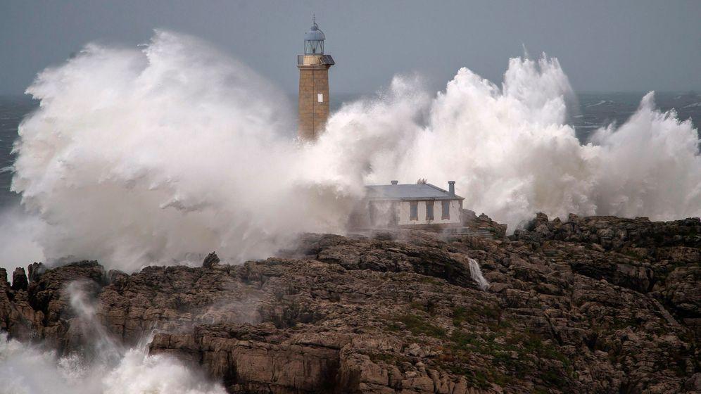 Foto: La velocidad media de los vientos ha aumentado un 7%. Foto: EFE Pedro Puente Hoyos.