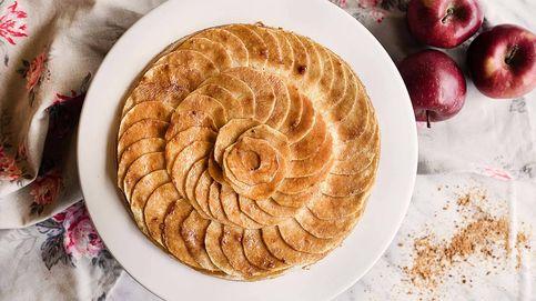 Tarta fina de manzana, un delicioso postre de restaurante hecho en casa