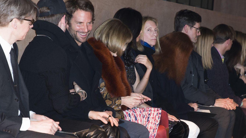 Foto: El actor Bradley Cooper en el 'front row' de Givenchy (Gtres)