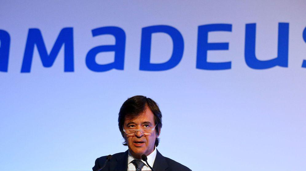Foto: Luis Maroto, CEO de Amadeus (Reuters)