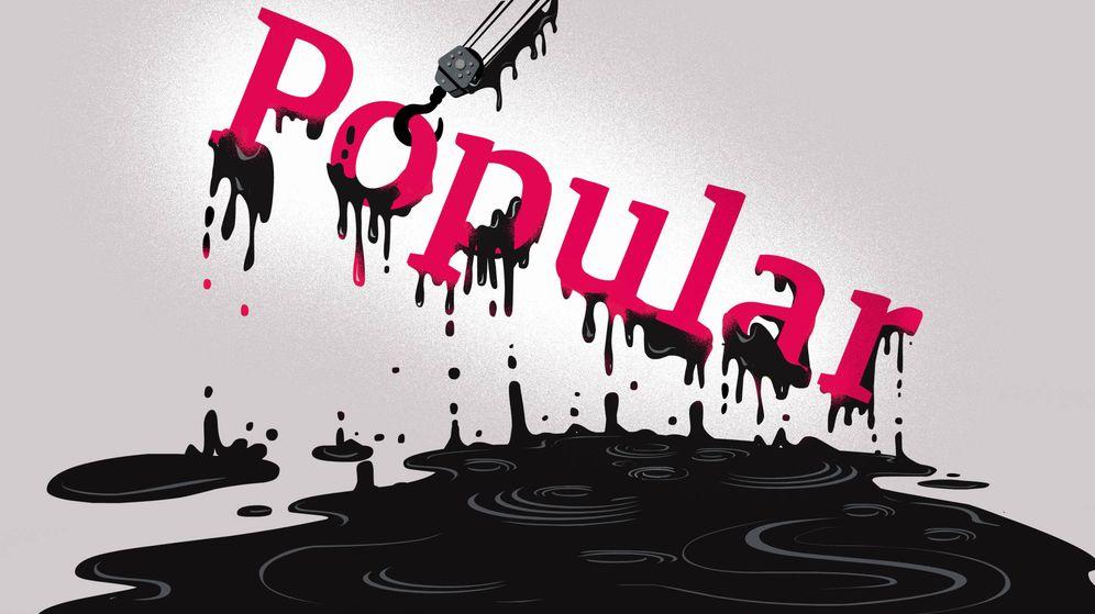 Foto: Logo de Banco Popular. (Ilustracion: Raúl Arias)