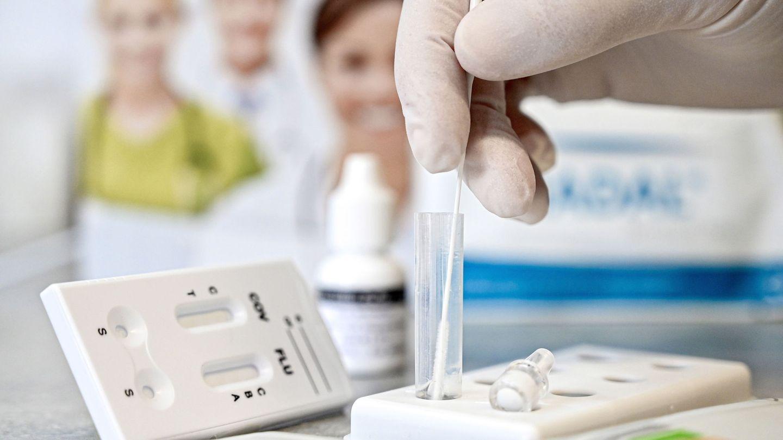 Test de antígenos. (EFE)