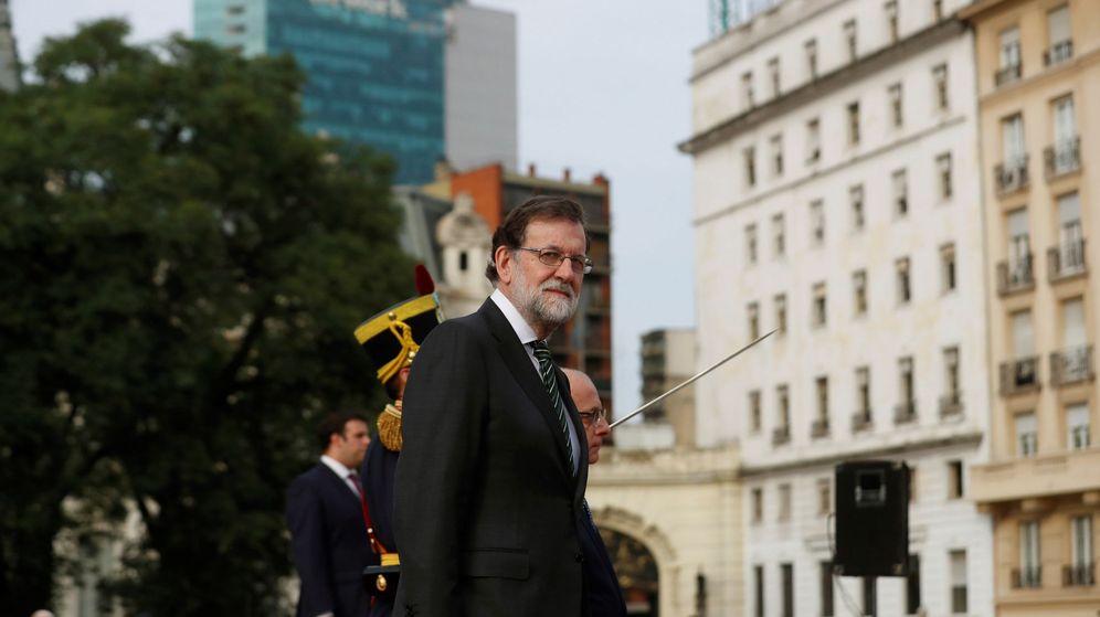 Foto: El presidente del Gobierno, Mariano Rajoy, el pasado 10 de abril en Buenos Aires. (EFE)