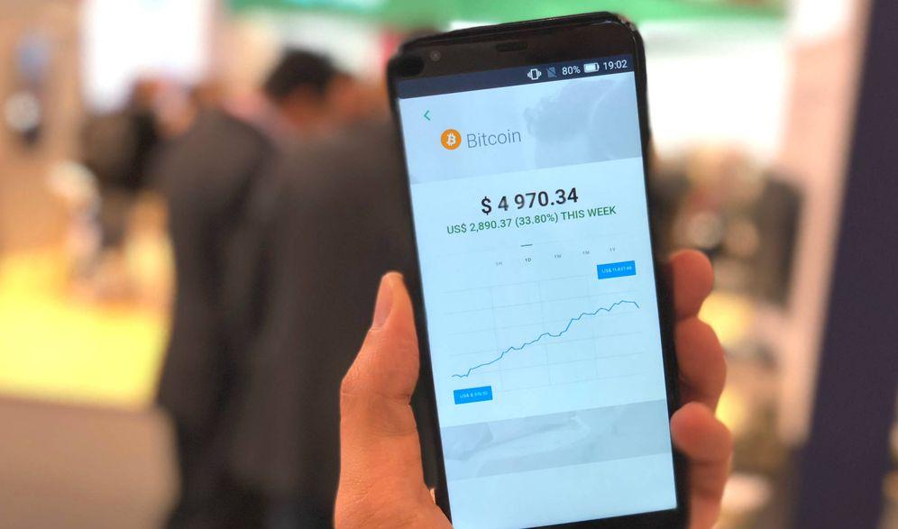 Foto: El SikurPhone, ¿un móvil seguro solo para invertir en bitcoins?. (Foto: M.A.M)