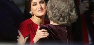 Post de El homenaje de la reina Letizia a doña Sofía en el aniversario de la Constitución