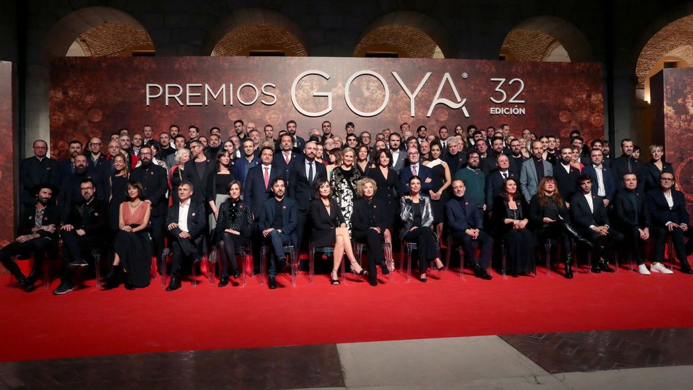 Foto: Fiesta de los nominados a los Premios Goya 2018   Foto: EFE