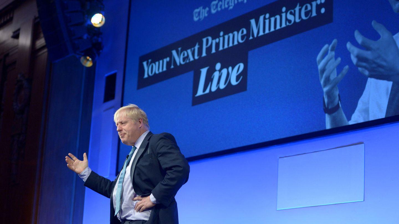 Boris Johnson, durante un debate. (Reuters)