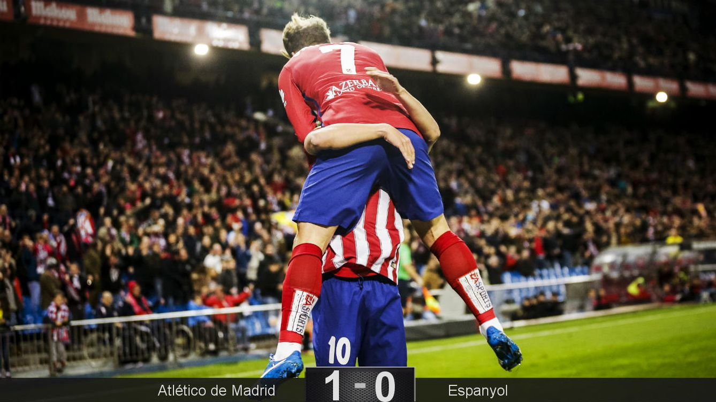 Foto: Griezmann vuelve a estar 'enamorado' del gol (EFE).